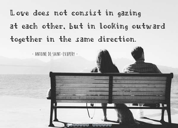 Love Is Gazing Together